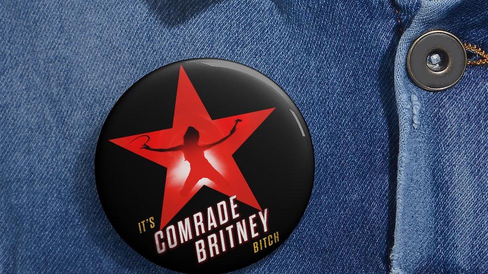COMRADE BRITNEY Pin (@MemeIndustrialComplex)