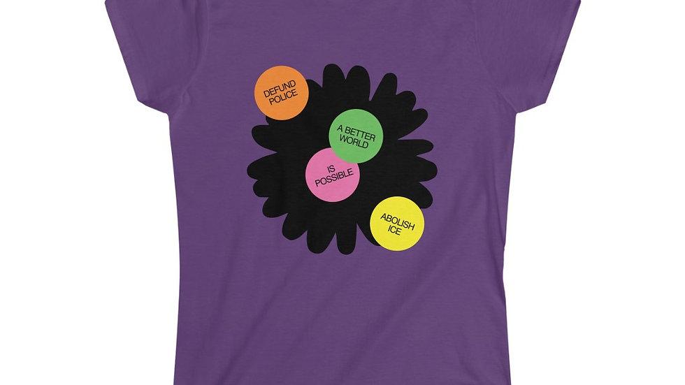 A BETTER WORLD Feminine Shirt (@laurrojas)