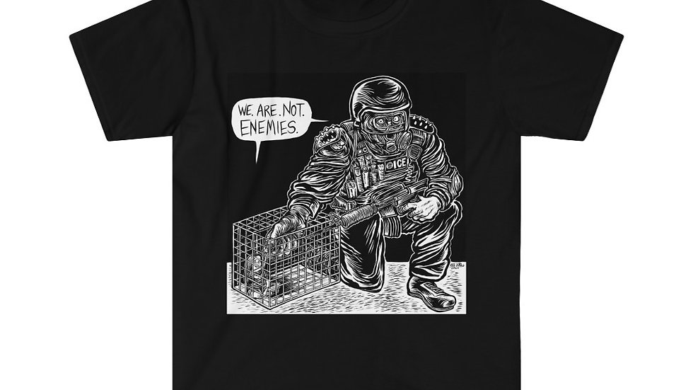 WE. ARE. NOT. ENEMIES. Shirt (Eli Valley)