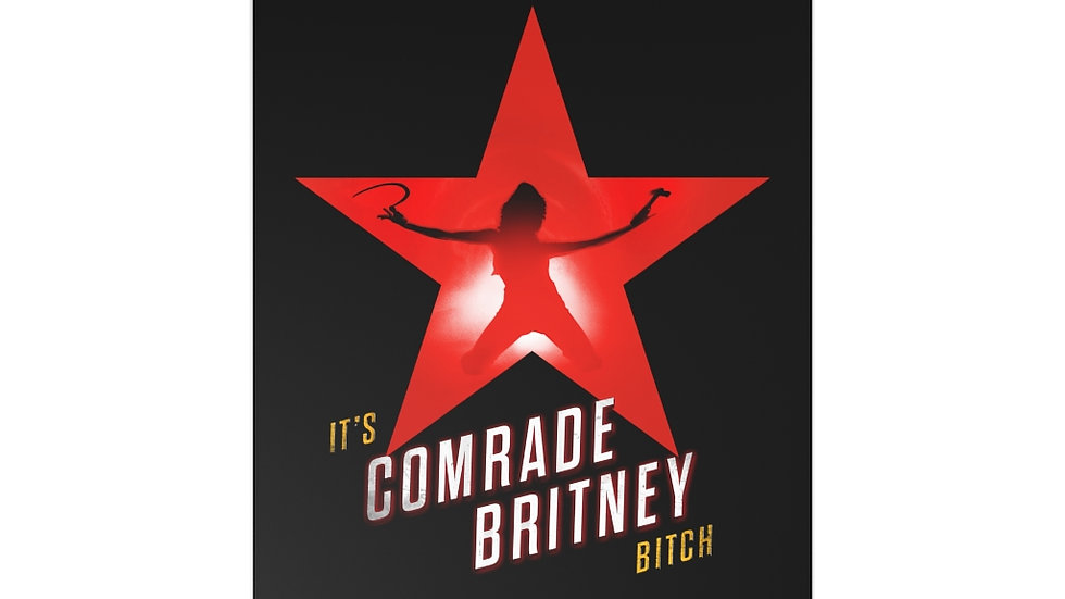 COMRADE BRITNEY 7 Postcards w/ Envelopes (@MemeIndustrialComplex)