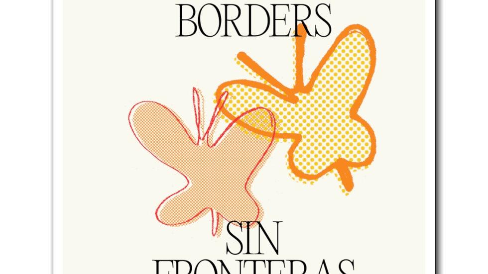NO BORDERS Magnet (@laurrojas)