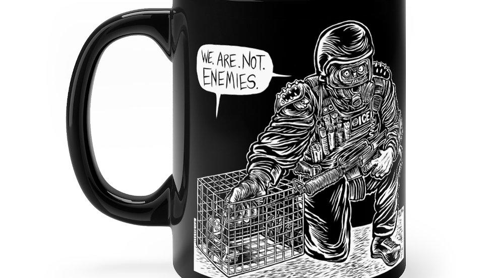 WE. ARE. NOT. ENEMIES. Mug (Eli Valley)