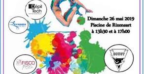 Gala de natation artistique : LE BOUST SOUS TOUTES SES COULEURS