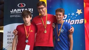 Championnats de Belgique des jeunes : une médaille pour Matéo Janssens