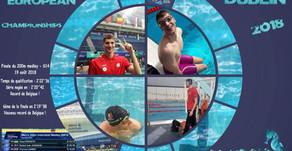 Deux records de Belgique pour Aymeric Parmentier aux Para Swimming European Championships de Dublin