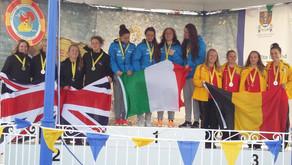 Première médaille européenne pour Elise Descamps