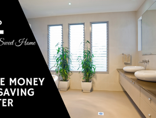Home Sweet Home (Save Money in the Bathroom)