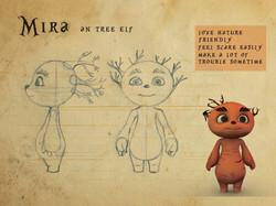 Mira Character Design