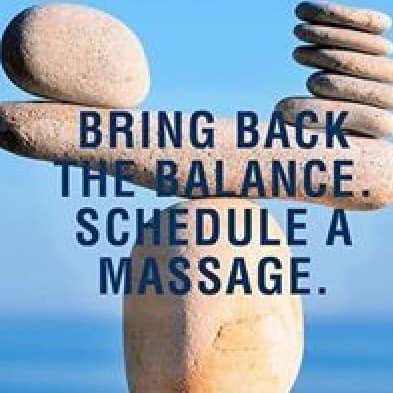Bring back the balance