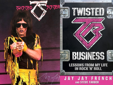 Jay Jay French of Twisted Sister writes a Bizoir