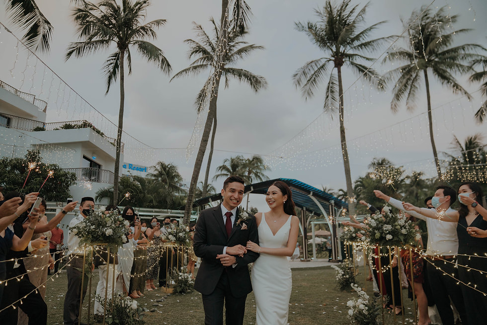 Singapore Wedding Day | Actual Day