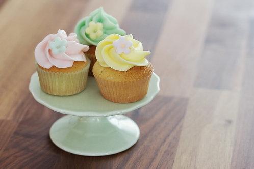 Mini Hot Milk Cupcakes