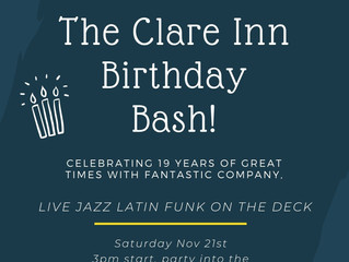 The Clare Inn Birthday Bash