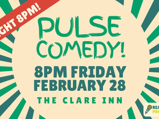 Comedy at The Clare Inn