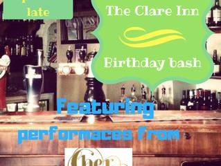 Clare Inn Birthday Bash
