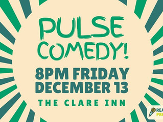 Comedy returns to The Clare Inn