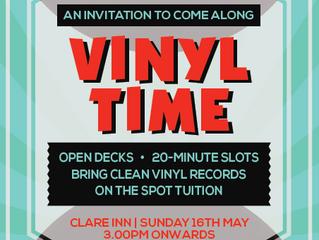 Vinyl Sunday Session 16th May