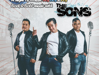 """Copy of Rock & Roll Night Performed by """"The Sons"""""""