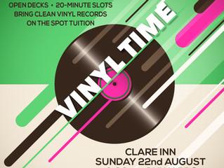 VINYL SUNDAY SESSOIN AUGUST 22nd