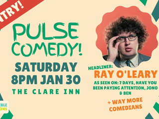 Pulse Free Live Comedy back @ The Clare
