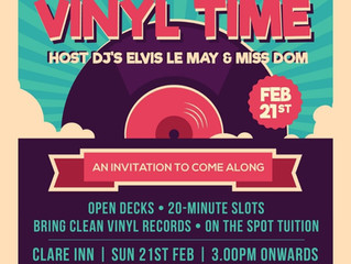 Vinyl Sunday Sesh Feb 28th