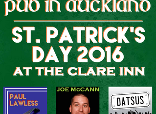 St. Patrick's Weekend at the Clare Inn