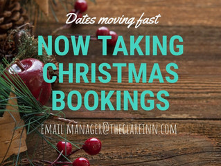 Christmas function bookings