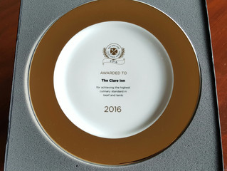 Beef and Lamb Excellence Awards Gold Plate