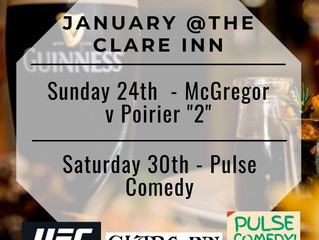 January @The Clare Inn