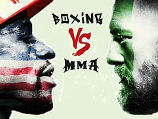 Mayweather vs Mcgregor Fight27th August 2017 1pm