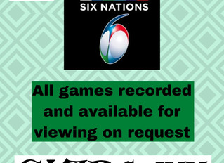 6 Nations @The Clare Inn