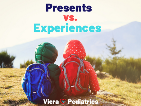 Presents vs. Experiences