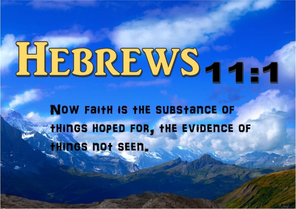 Hebrews 11 1 FBPM