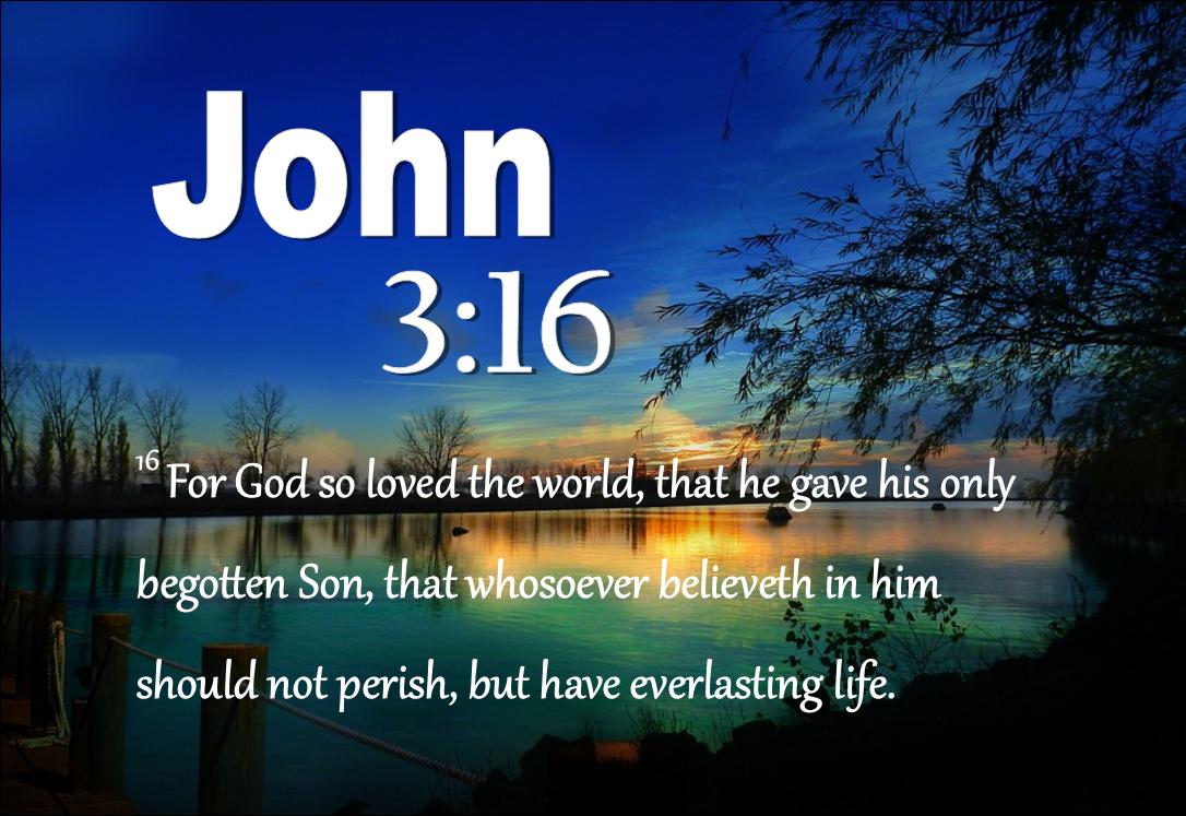 John 3 16 FBPM
