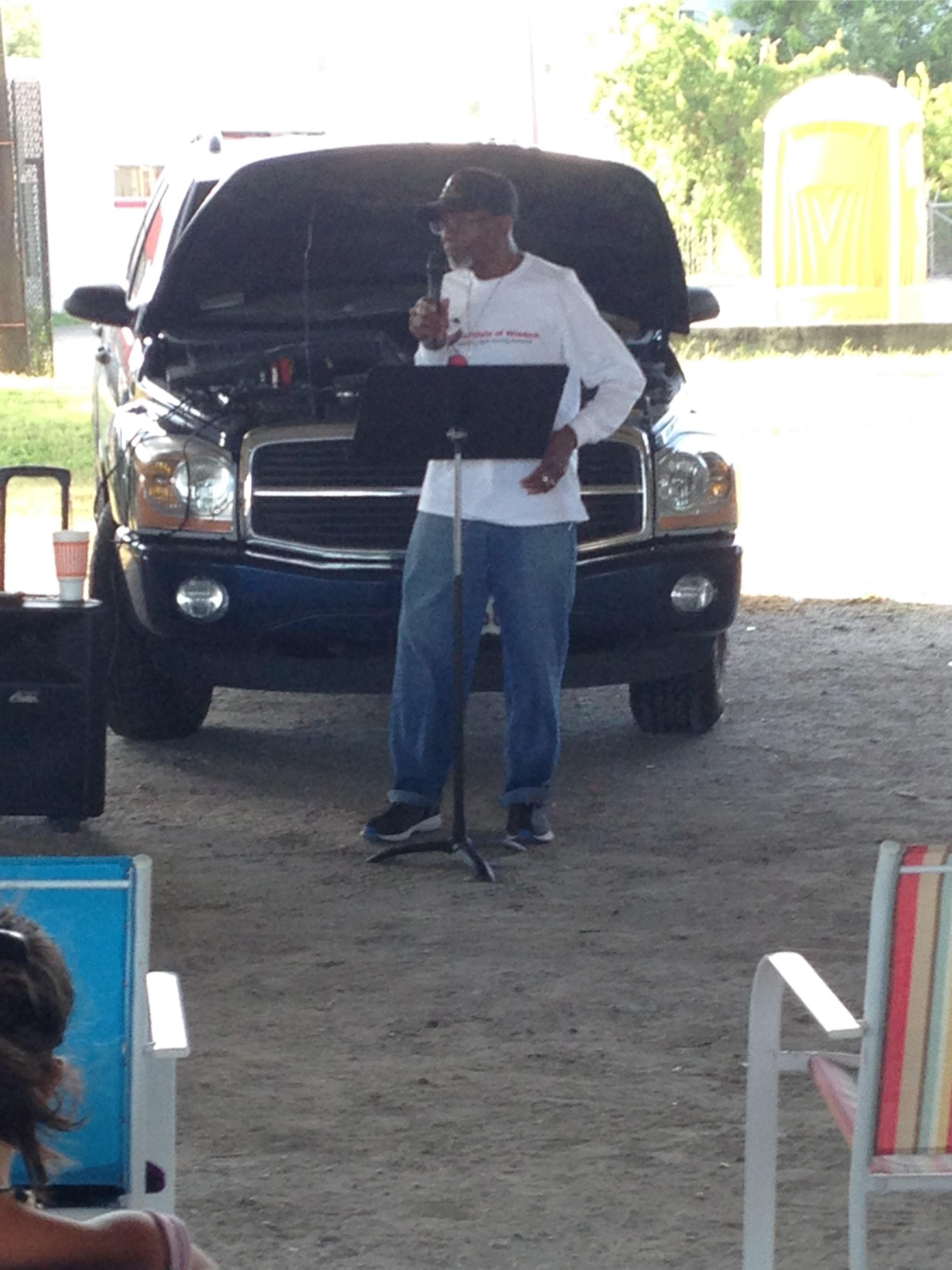 FBPM Under The Bridge Dr. Romanuel Washington Thursday July 23 2015