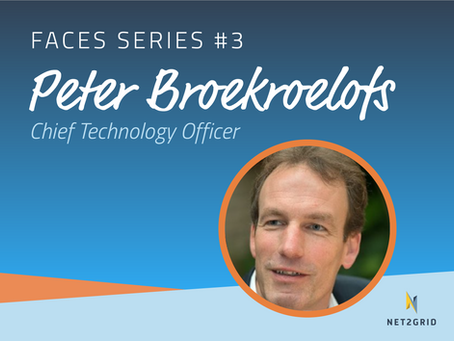 #FACES: Talking tech with CTO,                Peter Broekroelofs