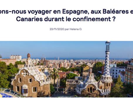 Pouvons-nous voyager en Espagne durant le confinement ?