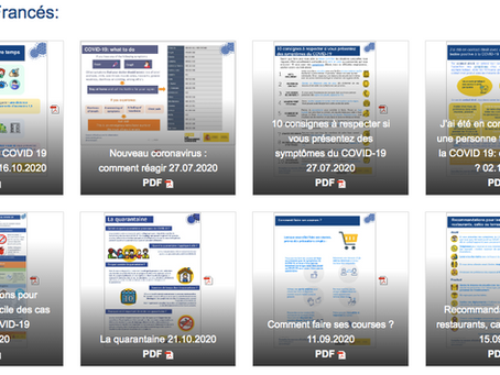 Documents à télécharger pour voyager et recommandations du Ministère de la Santé Espagnol