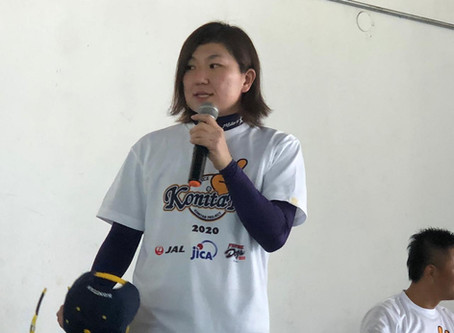 Nippon recebe palestra e clínica da lenda da JWBL, Mika Konishi