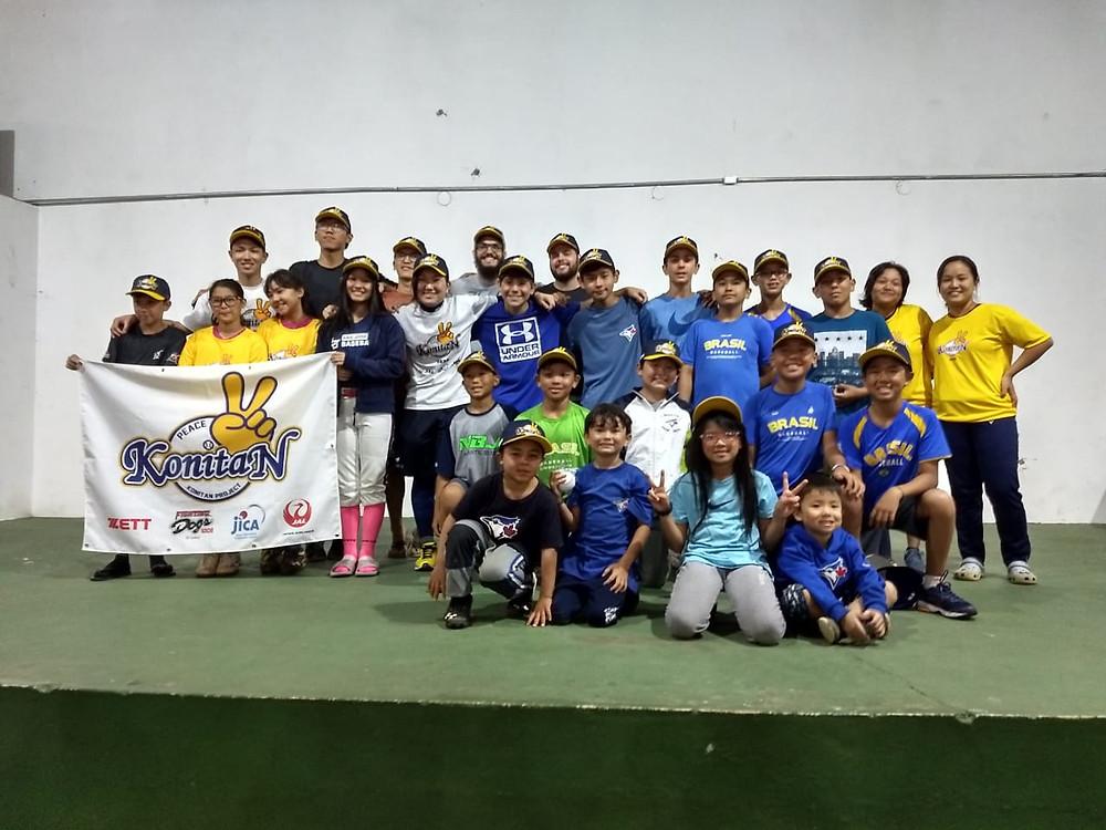 Mais de 30 atletas participaram do evento com a especialista japonesa