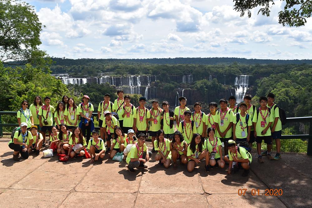 Escoteiros do Nippon passaram uma semana de aprendizado e aventura em Foz do Iguaçu, no JamCam 2020