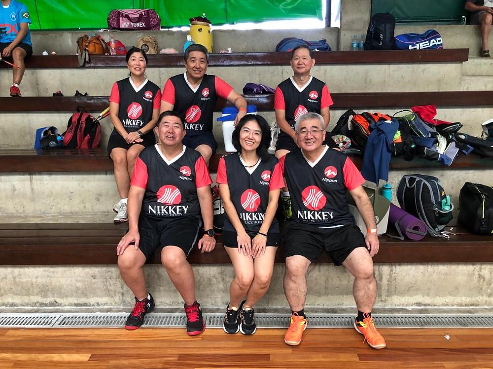Atletas do Nippon no Estadual Sênior, Veterano e Master