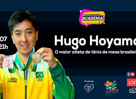 Hugo Hoyama. O maior atleta de tênis de mesa brasileiro.