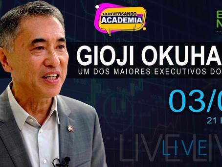 Gioji Okuhara. Um dos grandes executivos do Brasil e atual conselheiro de empresas.
