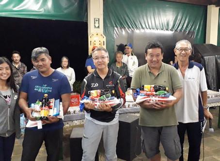 Departamento realiza V Torneio de Pesca Noturna por equipes