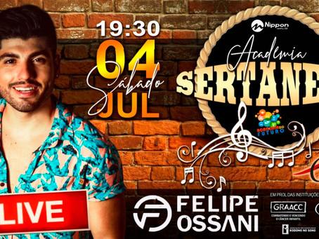 LIVE * Academia Sertaneja. Muito além da diversão e da boa música.