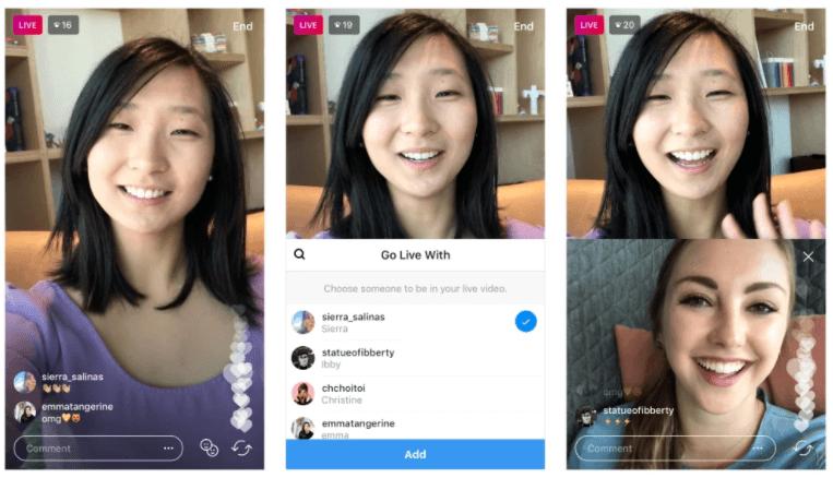 Instagram Live Share