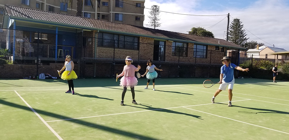 Port Macquarie Tennis Club Coaching Small and Private Groups