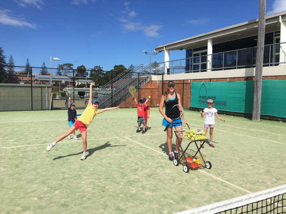 Kids Coaching at Por Macquarie Tennis Club