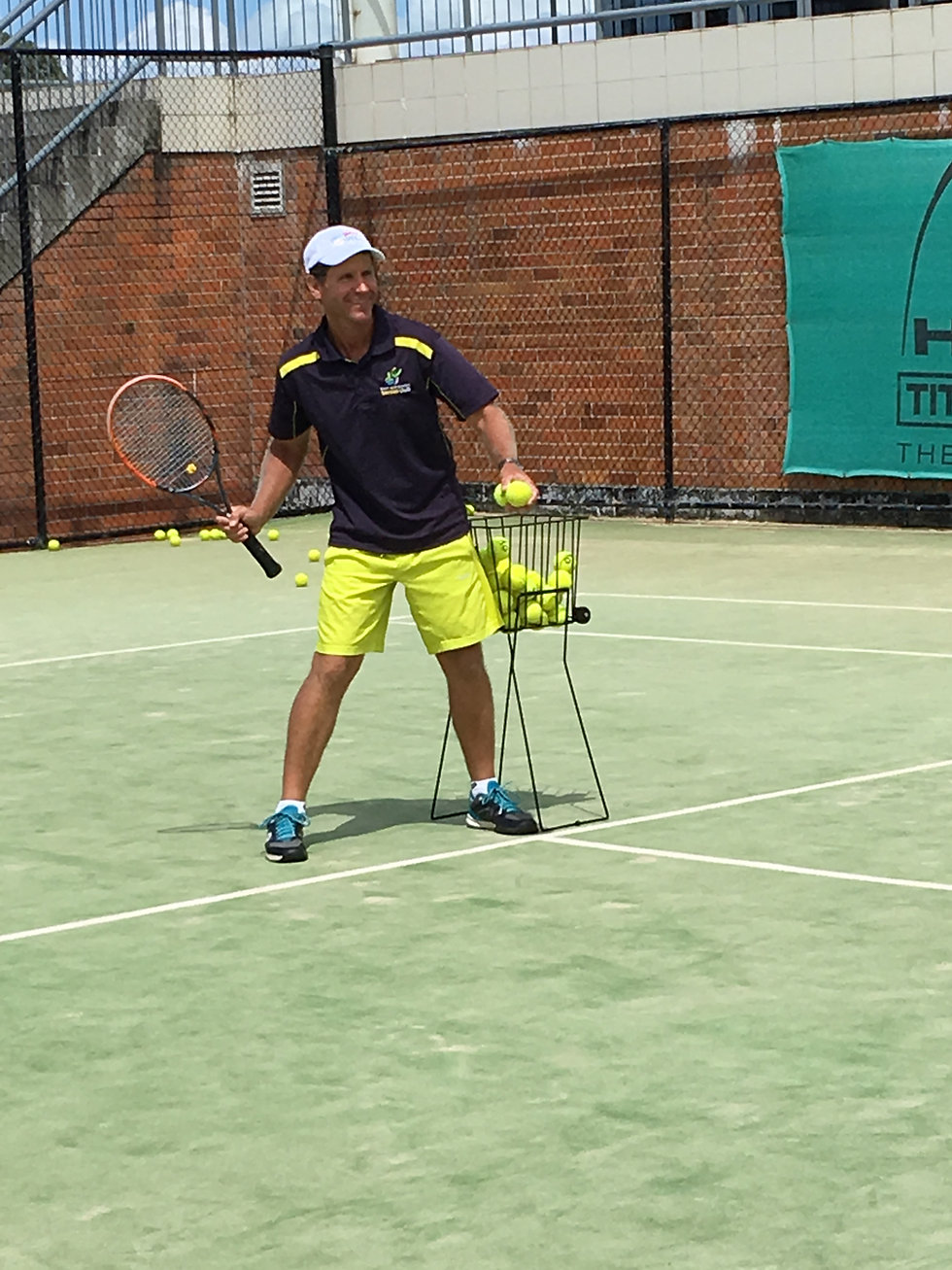 Greg Alchin Port Macqurie Tennic Club Coach